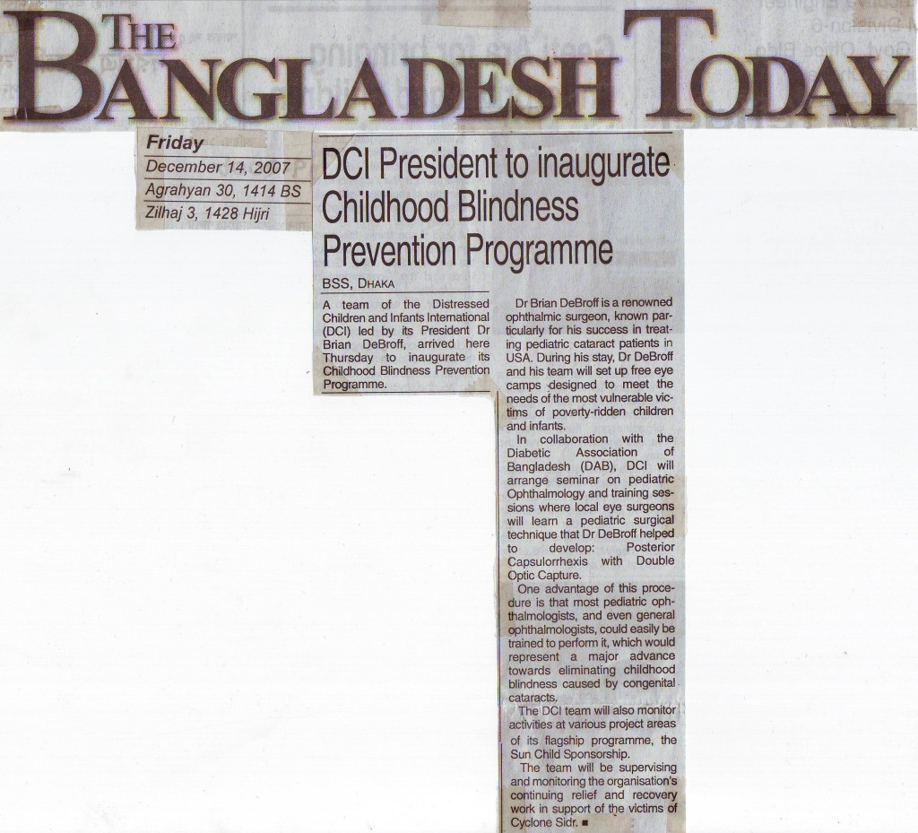 Bangladesh Today: 12-14-2007