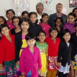 Dr. Hoque visits Sun Child Home