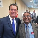 Dr. Ehsan Hoque Meeting with Governor Dannel Malloy