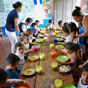 Give Meal Supplements for Preschoolers in Nicaragua