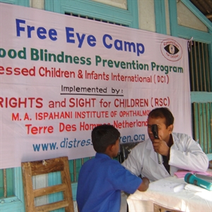 Give an Eye Screening Camp in Bangladesh