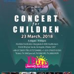 Journey for Child Rights & Sight Concert and Show: March 23, 2018 in Dhaka, Bangladesh