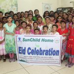 Eid Celebration of the girls of DCI SunChild Home